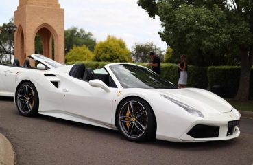 Ferrari 488 Spider Wedding Cars Sydney