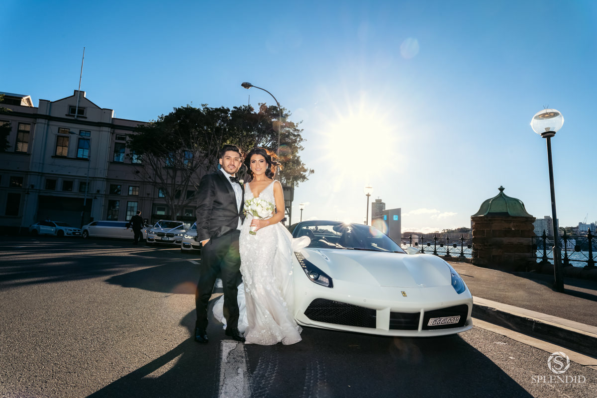 Astra Ferrari Wedding Car