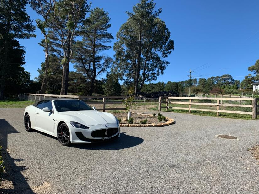 Bowral Maserati Wedding Cars